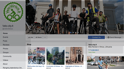 VeloVilnius on Facebook