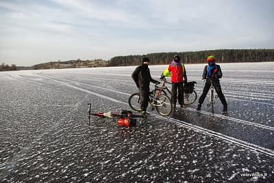 Winter cyclists' club opens it's  4th season on November, 12th