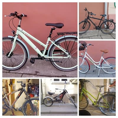 Bicycles now from 30€/month!