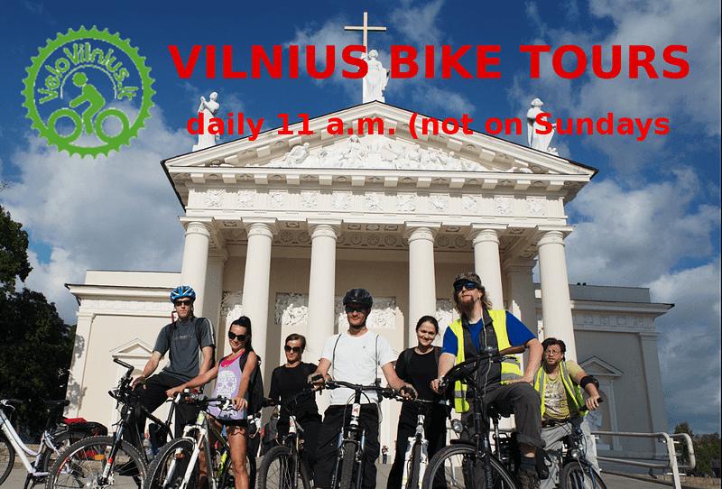 Vilnius Bike Tours >> MORE